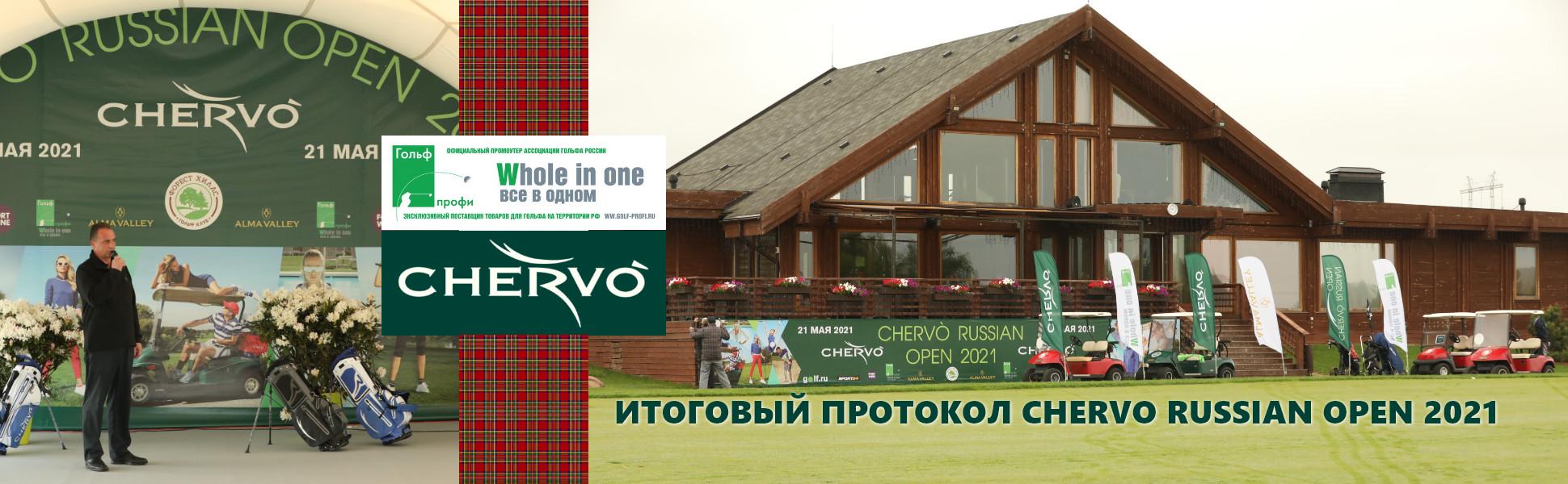 Итоговый протокол Chervo Russian Open 2021