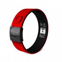 Браслет (жен) C-Prime'17  3228 (red/black)