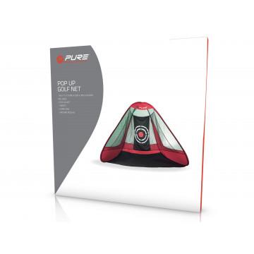 Сетка ACM'8  Golf Practice Net (красный/черный)