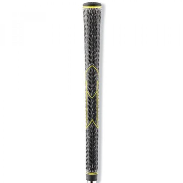 Грип Golf Pride VIC-60R-12-X99 (черный с желтым)
