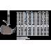 Вейдж Cleveland'17  W_RTX-3_Black Satin/RH  50*(SB)