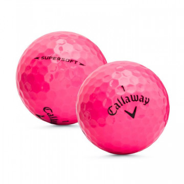 Мяч Callaway'16 SUPERSOFT (3шт/уп) pink