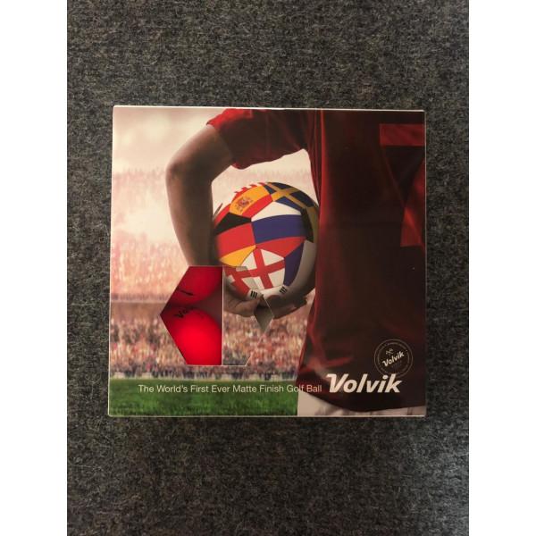 Мячи Volvic'8  Football триколор (9шт/уп)
