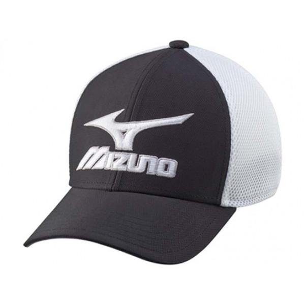 Бейсболка Mizuno'17  Phantom Cap (Black/White)