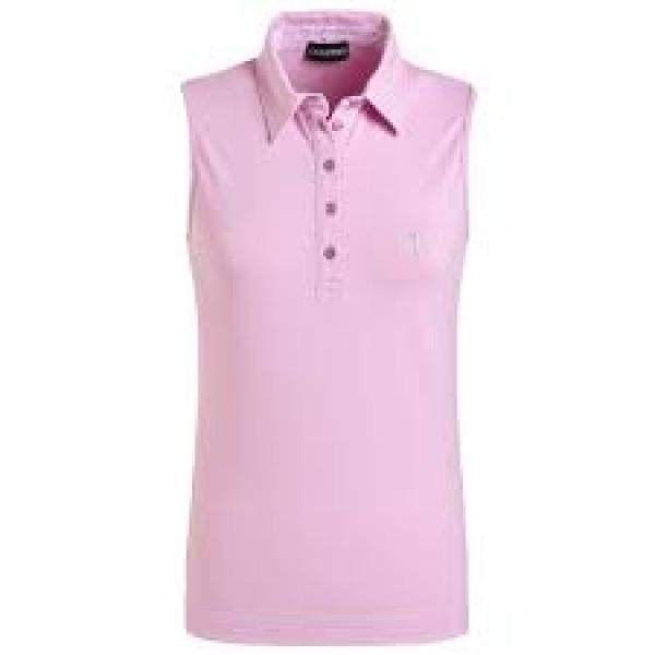 Поло б/р (жен) Golfino'17  8232922 (260) розовый