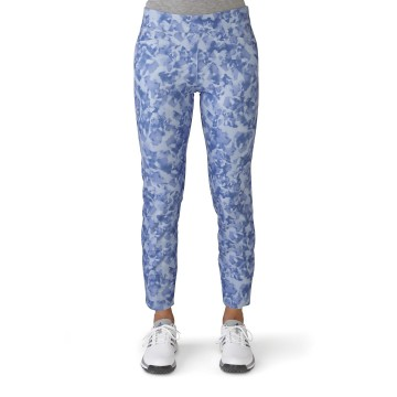 Брюки (жен) Adidas'16  Print Cropped  (blue) 4320