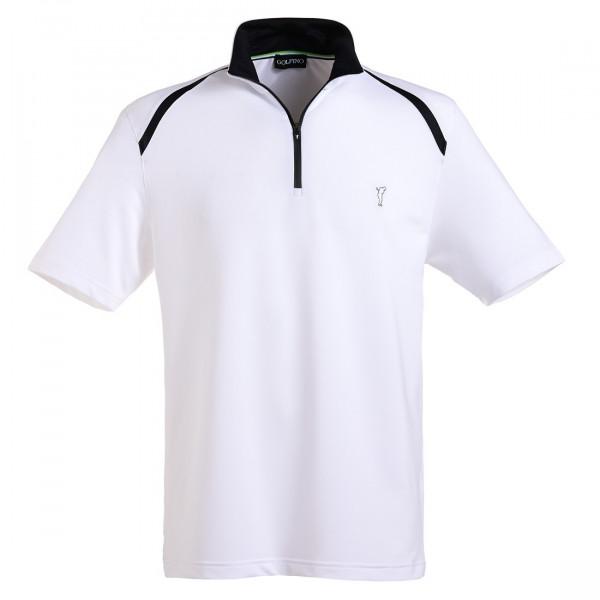 Поло на молнии (муж) Golfino'6  6230712 (100) белый