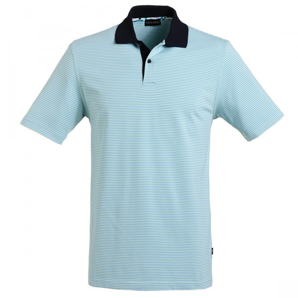 Поло (муж) Golfino (620) голубой в полоску 6232212