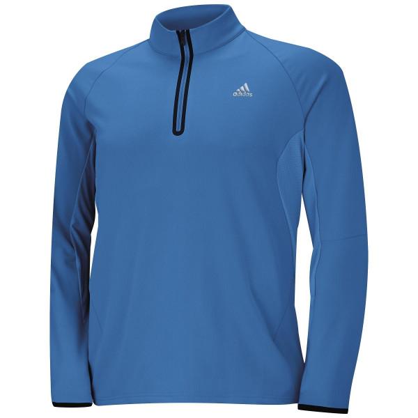 Кофта (муж) Adidas'16  1/4 Zip 8797 (синий)