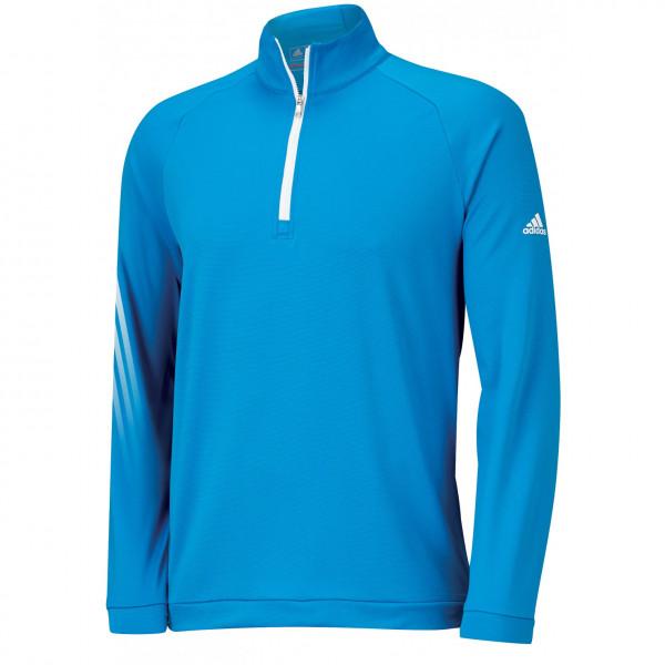 Кофта (муж) Adidas'16  ClimaCool Zip (blue) 8789