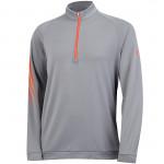 Кофта (муж) Adidas'16  1/4 Zip Layering (grey) 8788