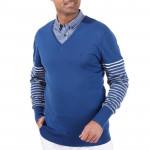 Пуловер (муж) Golfino 6110312 (570) синий