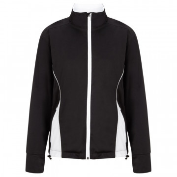 Дожд. куртка (жен) Callaway'8  CGJF6035 (991) черный/белый