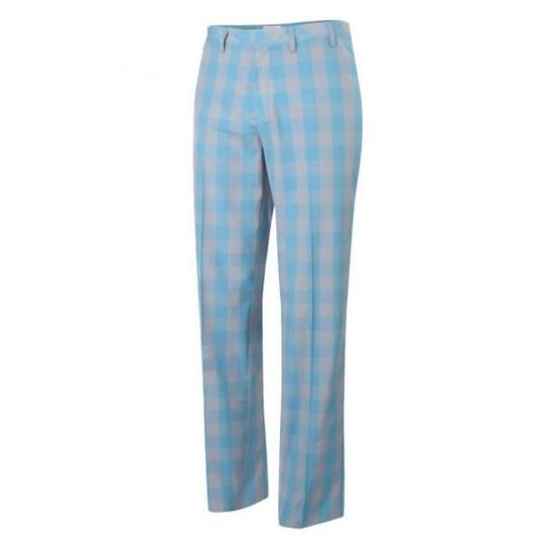 Брюки (муж) Adidas'4 (голубая клетка) 23912