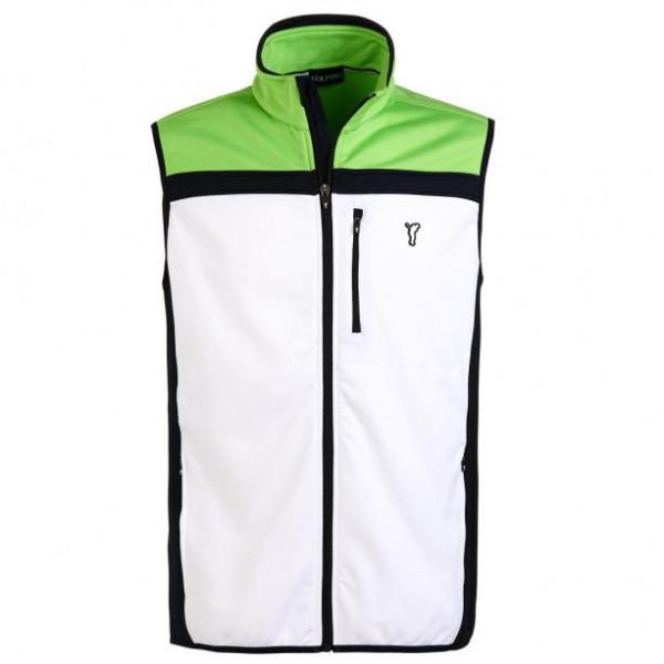 Жилет (муж) Golfino (100) белый/зеленый 6220412
