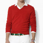 Пуловер (муж)  Adidas'4 (красный) 67481