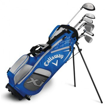 Сэт (дет) Callaway'8  X Junior-3 blue (137-155см) (Dr/w5,h/#7,#9,#sw/Pt/Bag) RH
