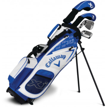 Сэт (дет) Callaway'8  X Junior-3 white (137-155см) (Dr/w5,h/#7,#9,#sw/Pt/Bag) RH