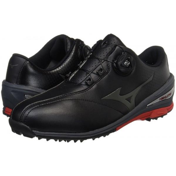 Ботинки (муж) Mizuno'8 NEXLITE Boa (черный) 1720