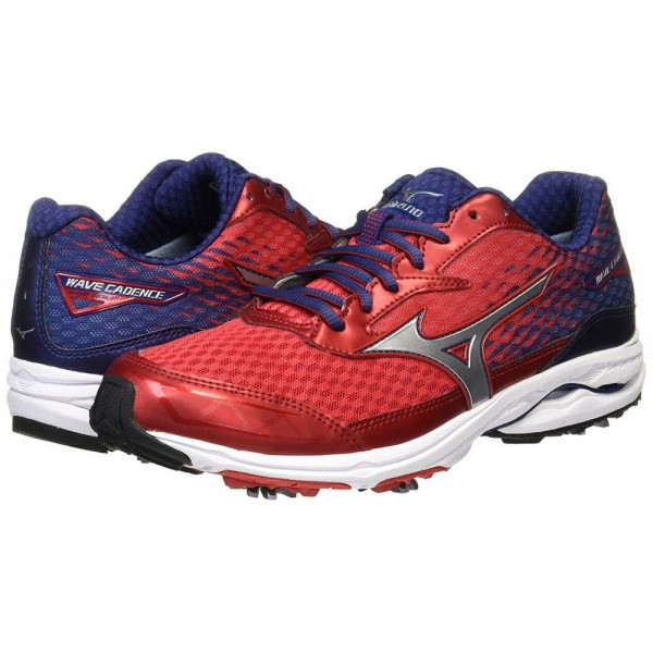 Ботинки для гольфа MIZUNO Wave Cadence 51GM1750  62 Red/Silver/Navy