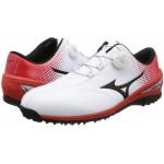 Ботинки (муж) Mizuno'8 NEXLITE Boa (белый-красный) 1720