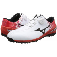 Ботинки для гольфа MIZUNO NEXLITE 004 Boa 51GM1720 62 White/Red