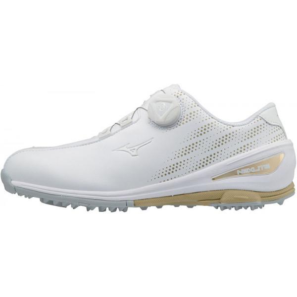 Ботинки для гольфа (жен) MIZUNO NEXLITE 004 Boa 51GW1720 50 White/Gold