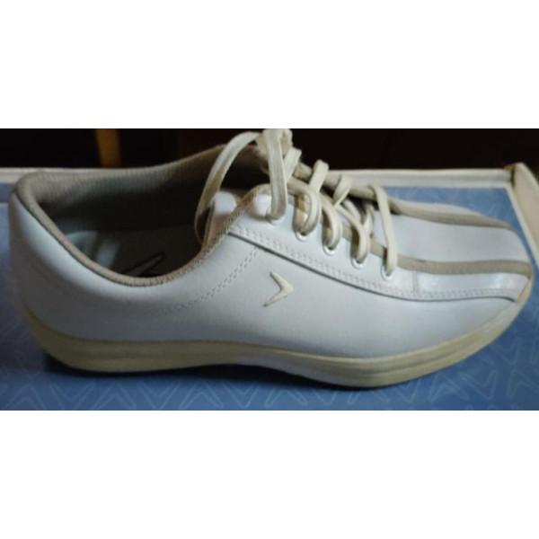 Ботинки (жен) Callaway'4 (белый) 409-23