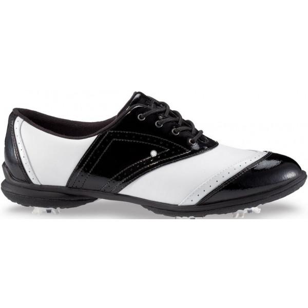 Ботинки (жен) Callaway'4 (черный-белый) 475-12