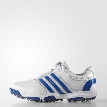 Ботинки (муж) Adidas'16  Tour360 X Boa (white/blue) 33445