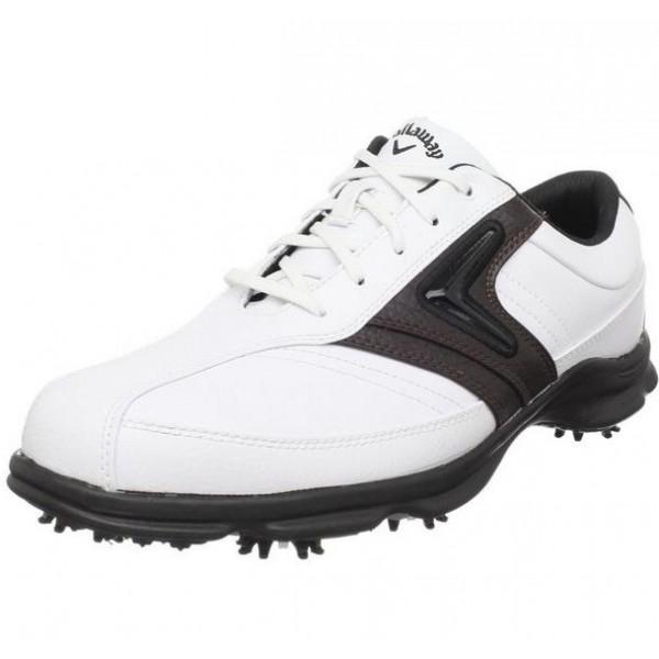 Ботинки (муж) Callaway'4 (белый-черный) 160-12