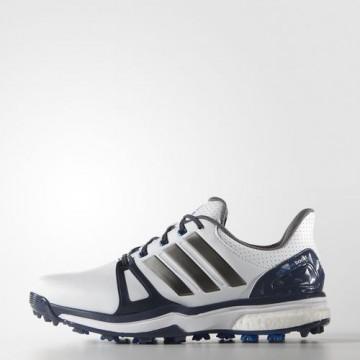 Ботинки (муж) Adidas'16  Adipower boost 2 (white) 44661