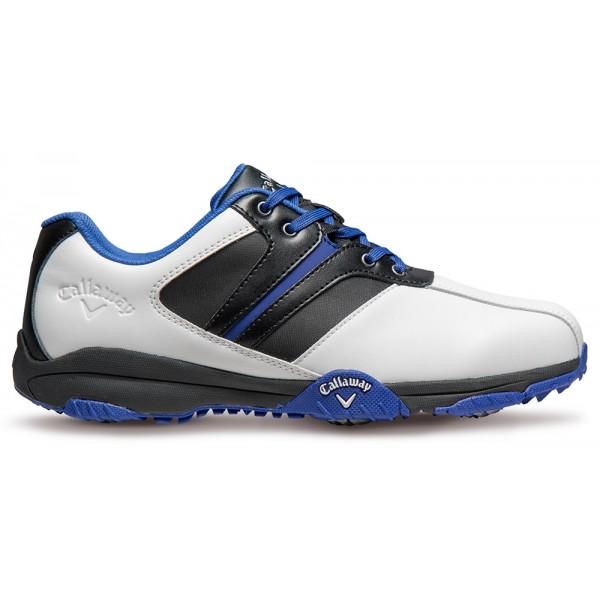 Ботинки (муж) Callaway'16  Chev Comfort (белый-синий) M337-16