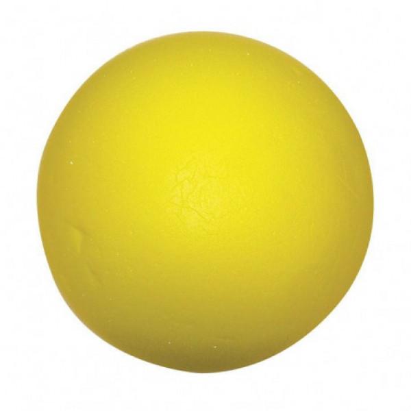 Мячи (трен) АСМ'8  Foam мягкие (желтый)  (6шт/уп) 212822