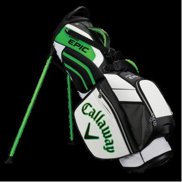 Бэг Callaway'8  GBB EPIC (черный/белый/зеленый) Stand