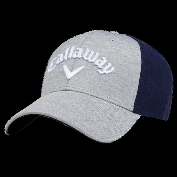 Бейсболка Callaway'8  Mesh Fitted (серый/синий) 5218055