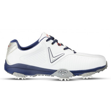Ботинки (муж) Callaway'8  Chev Mulligan (белый/синий) M541-15