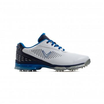 Ботинки (муж) Callaway'8  XFER Nitro (белый/синий/голубой) M535-15