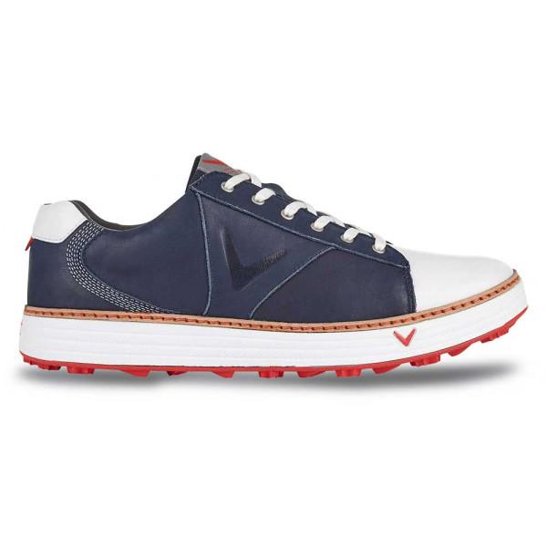 Ботинки (муж) Callaway'8  Del Mar Retro (синий) M559-06