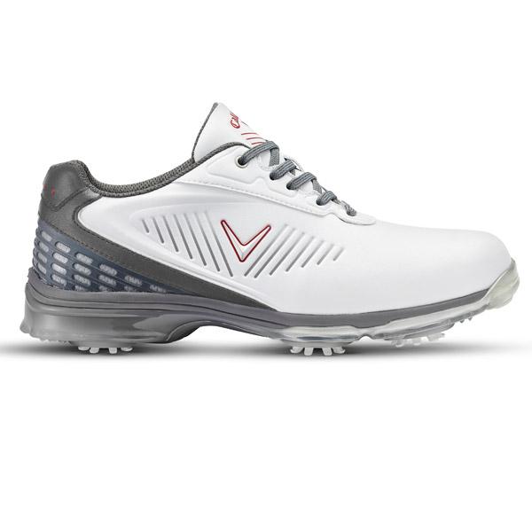 Ботинки (муж) Callaway'8  XFER Nitro (белый/серый) M535-01