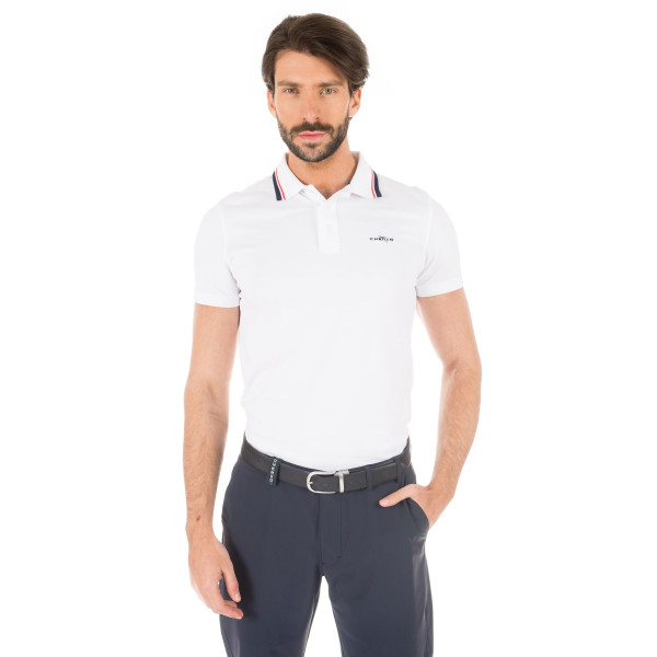 Поло (муж) Chervo'8  AFFETO (100) белый, 59315