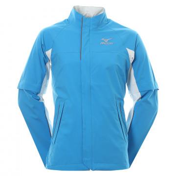 Дожд. куртка (муж) Mizuno'8  52GG7530 (голубой)