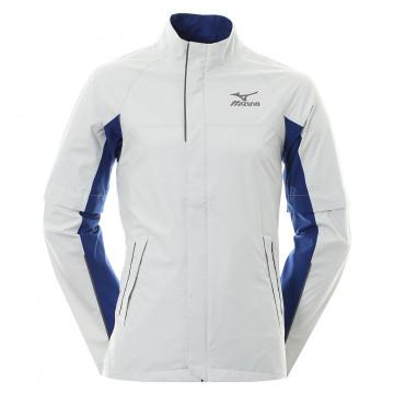 Дожд. куртка (муж) Mizuno'8  52GG7530 (серый/синий)