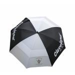Зонт Cleveland'9  1368 (черный/белый) logo MGGK