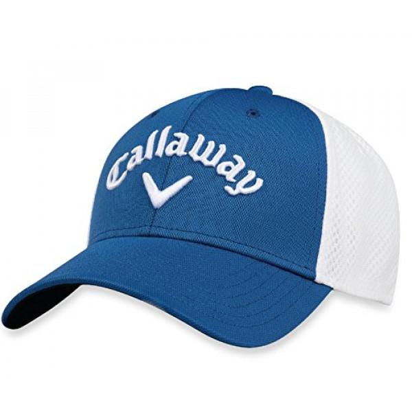 Бейсболка Callaway'8  Mesh Fitted (синий/белый) 5218058