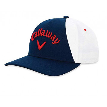 Бейсболка Callaway'9  Ball Park  5219216 (синий/белый/красный)