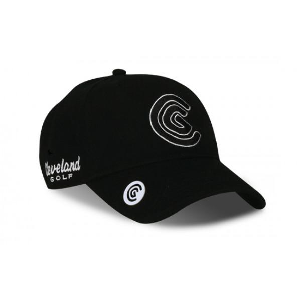 Бейсболка Cleveland'9  FLAT BILL  105058 (черный)