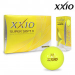 Мяч XXIO'9  SUPER SOFT X (3шт/уп) желтый 3pc