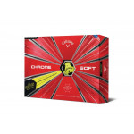 Мяч Callaway'9  CHROME SOFT TRUVIS (желтый) (3шт/уп) 4pc