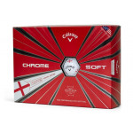 Мяч Callaway'9  CHROME SOFT TRUVIS England (3шт/уп) 4pc